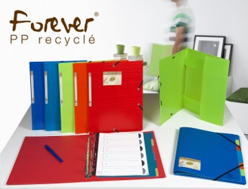 Forever<sup>®</sup> is our range made from recycled plastics